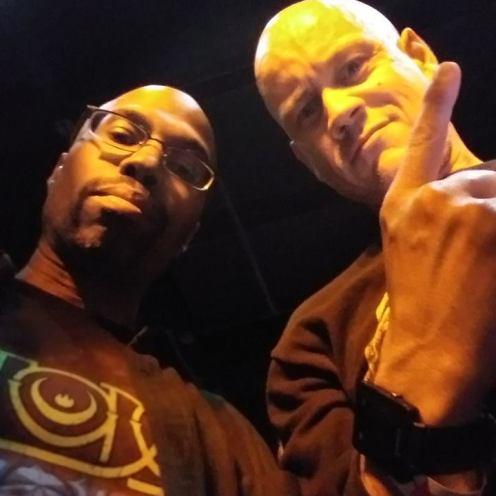 Me and Josh at BCB Death Angel Show